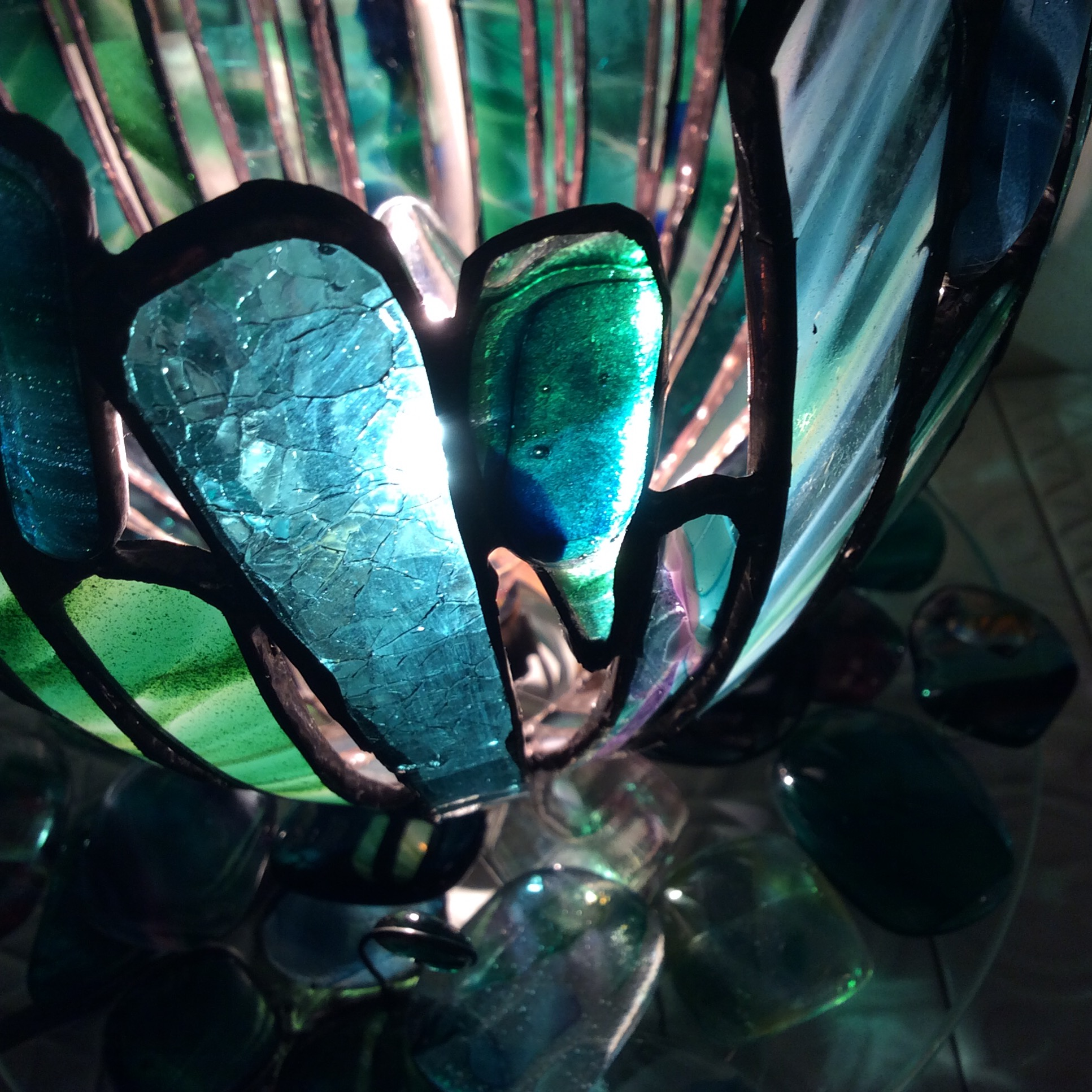 グリーンのランプのイメージ