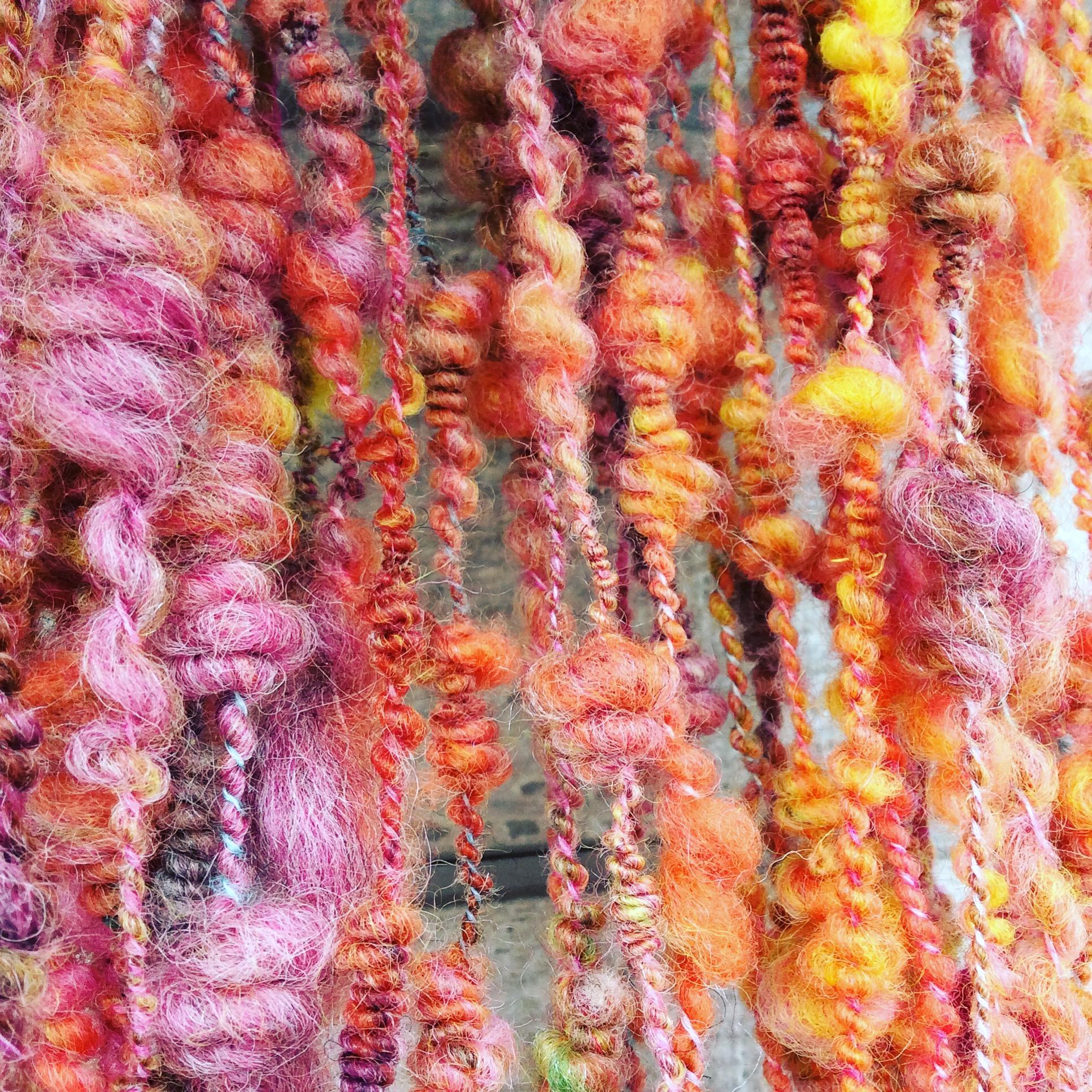 好きな色の羊毛でのイメージ